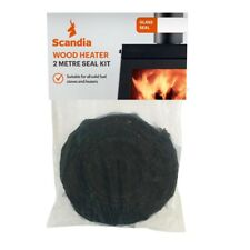 Scandia FIBREGLASS GLASS SEAL 20mmx2m Suits Solid Fuel Stoves & Heater*AUS Brand