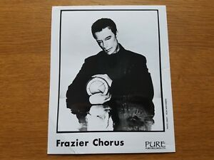 Frazier Chorus 8x10 Noir et Blanc Photo de Presse 90's GB Britpop Synth Pop