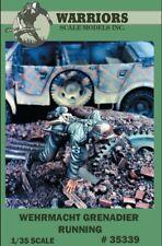Warriors 1:35 Wehrmacht Grenadier Running Resin Figure Kit #35339
