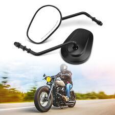 8MM Motorrad Spiegel Paar für Harley Dyna Sportster 883 Street Glide Softail