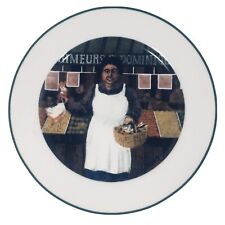 L'Etalage Collection Shopkeepers The Vegetable Lady Plate