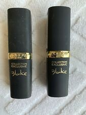 2 L'OREAL Exclusive Collection #711 BLAKE'S PINK New Unsealed