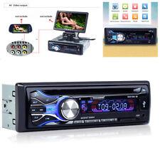 12V Car Bluetooth DVD CD Player Radio Card Host Video MP3 Player+Remote Control