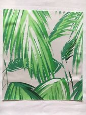Matthew Williamson Fabric Sample / Remnant TROPICANA Grass/Pebble