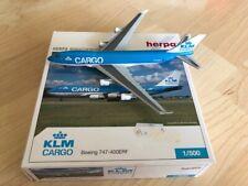 Herpa Wings 1:500 KLM Cargo Boeing 747-400ERF mit Box