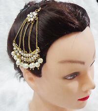 Indian Traditional Jhoomar Passa Tikka Ethnic Bridal Head Piece Bridal Jewellery