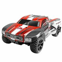 Redcat Racing Blackout SC 1/10 Scale Brushed Electric RC Short Course Truck, Red