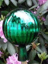 Große Rosenkugeln Glaskugeln Gartenkugeln Garten  Balkon Rosenkugel Ø15cm Grün
