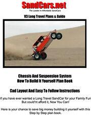 Sandcars V3 4 Seater Long Travel Sand Buggy Rail Plans