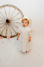 "Christening Gown  - ""Diana"" - Short Length from JennysAngels"