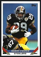 BARRY FOSTER 1993 Topps Pittsburgh Steelers #140