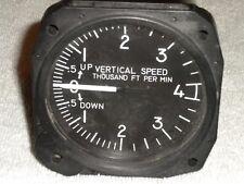 United Vertical Speed Indicator VSI 7040- C.109 Internally Lighted 4K-0-4K