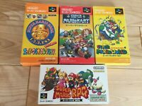 Lot MARIO KART Collection World RPG SFC Super Famicom SNES NTSC-J CIB JAPAN