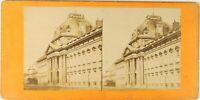 Francia Parigi Scuola Militaire Ca 1870 Foto Stereo Vintage Albumina PL62L7