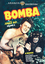 Bomba, the Jungle Boy V.2 DVD - Johnny Sheffield, Ford Beebe: 6 Films on 3 Discs