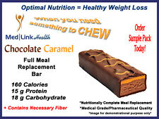 CHOCOLATE CARAMEL BAR Weight Loss | 1 Case | SIMILAR TO Optifast® 800