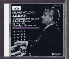HELMUT WALCHA CD NEW BACH ORGELWERKE