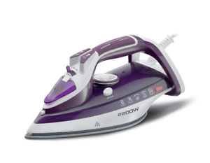 Easyhome 6243 Steam Iron 2200 Watts Ceramic Sole Plate GIFT BOX DAMAGE