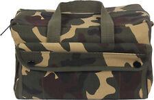 Woodland Camouflage Heavyweight Military Mechanics Standard Tool Bag