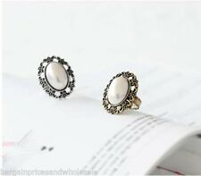 Unbranded Pearl Retro Costume Rings