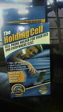 The Holding Cell---Cell Phone Holder for the Bed, Sofa, Bunk Beds, Walls, Baby a