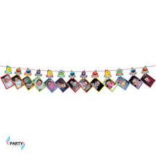 Sesame Street 1st Birthday Party Supplies PHOTO GARLAND