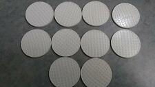 10 WHITE TITLEIST PLASTIC POKER CHIPS