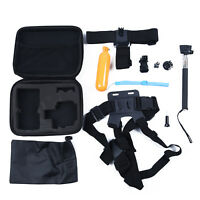 10Pcs Camera Accessories Kit For GoPro Hero 5 4 Session 3 and 3 Xiaoyi Action