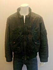 ARMANI JEANS - 100% Leather Bomber style Jacket