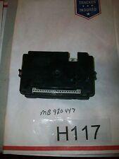 Mitsubishi Eclipse in-dash fuse box electronic control unit MB920447 TEST#H117+