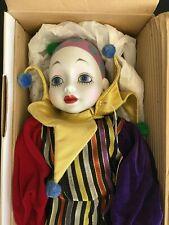 """Collection De Poupees """"le P'tit Pierrot� - designe Madame Verte Sankyo - New"""