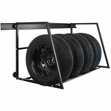 HARDCASTLE CAR WHEEL/TYRE WALL MOUNTED GARAGE/WORKSHOP STORAGE RACK STAND