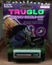 New! Truglo Magnum Gobble Sight 5/16� Red/Green Benelli, Ruger, Browning -Tg941D