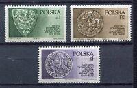 35900) Poland 1975 MNH Piast Dynasty 3v.Scott #2132/34