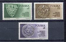35900) POLAND 1975 MNH** Piast dynasty 3v.Scott# 2132/34