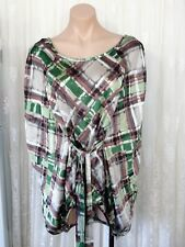 D21!  SIZE 10 LOOSE FLOWING BATWING  TOP NEW WITH TAGS RRR $109.95