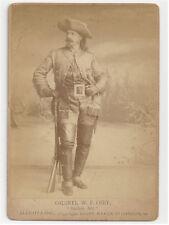 WILLIAM BUFFALO BILL CODY ORIGINAL ANTIQUE PHOTO 1880