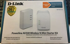 D-LINK POWERLINE AV500 WIRELESS N MINI STARTER KIT DHP-W311AV