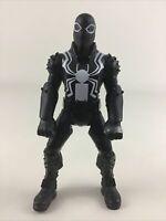 "Spider-Man Agent Venom 6"" Action Figure Black Suit Spidey Marvel 2015 Hasbro Toy"