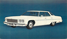 1975 CHEVROLET CAPRICE CLASSIC 4-DOOR SEDAN AUTOMOBILE ADV. CHROME POSTCARD