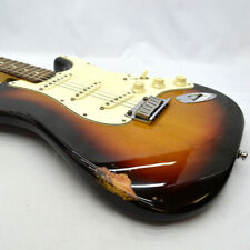 Used 2000 Fender USA American Standard Stratocaster Sunburst Long Scale W/HSC