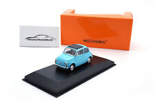 #940121601 - Minichamps Fiat 500 L - Blau - 1965 - 1:43