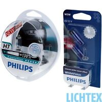 H7+W5W PHILIPS X-tremeVision & WhiteVision - Scheinwerfer Lampe DUO PACK NEU