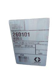 260101 Graco Oil Transfer Pump