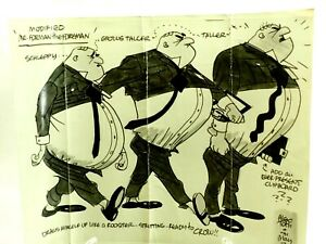 """Alex Toth Mr.Foreman the Foreman Draws himself up Like a Rooster 10x13"""" Photo"""