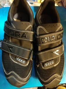 Diadora Geko Mountain Bike Cycling Shoes Size Men's 5.5 Women's 7 Black NWOB