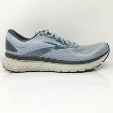 Brooks Womens Glycerin 18 1203171B073 Sky Blue Running Shoes Lace Up Size 10 B