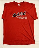 Classic Dare Dare To Resist Drugs And Alcohol Vintage Graphic T Shirt