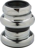 "Tange Passage New 1"" Threaded Headset: 26.4mm Crown Race Chrome"