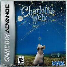 Charlotte s Web Nintendo Game Boy Advance GBA & DS >Brand New - In Stock<